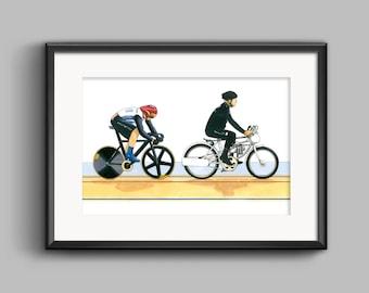 Sir Chris Hoy, Keirin, London 2012 Olympics POSTER PRINT A1 size