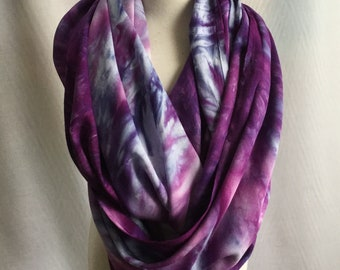 Circle scarf, made from bamboo rayon