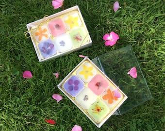 Luxury Floral Bath Melts Gift Box - Box of 6