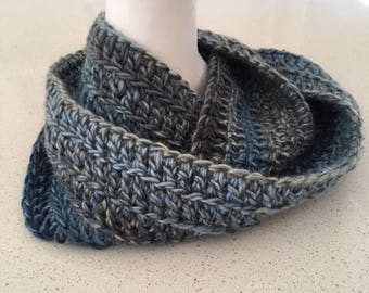 Cowl, Infinity Scarf, Soft, Blues