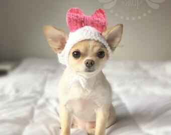 Pet Big Bow Hat (XS-XL)