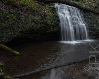 Waterfall, Sunderland, Western Massachusetts