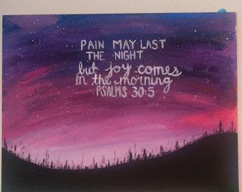 Psalms painting