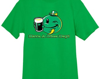 funny St Patricks day shirts / Have a nice Day
