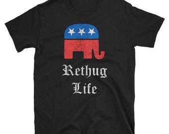 Rethug Life Vintage T Shirt