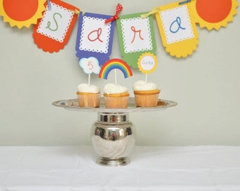 Rainbow birthday party, rainbow party package, Rainbows, birthday party