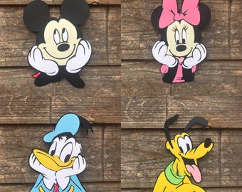 Mickey Mouse Clubhouse themed FACE cutouts