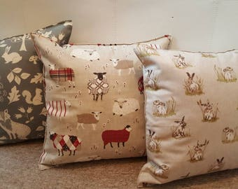 Country Linen Cushions
