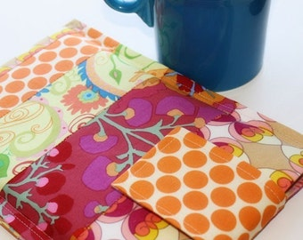 Kindle Sleeve,kindle Cover, kindle  Case,  Nook Case, Nook Sleeve, Nook Color, Kobo, Sony - Cozy -- Techee Gadget in Pretty Pathways