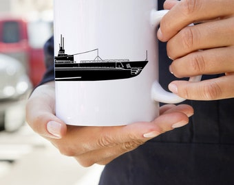 KillerBeeMoto:    Limited Release USS Tautog SS-199 World War Two Submarine Coffee Mug (White)
