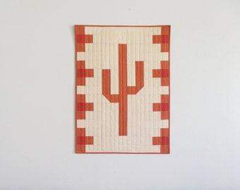 Customizable Saguaro Wall Hanging
