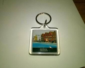 437) Keychain souvenir from Bergen