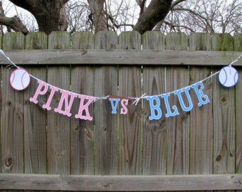 Gender Reveal Ideas, Large Letters, Gender Reveal Baseball Party, Pink Or Blue, Baseball Or Bows, Baseball Or Ballet, Baseball Or Softball