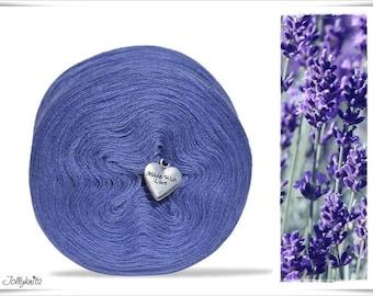Solid Yarn Merino Lavender 750m