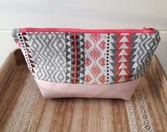 Make-up / woman storage pouch / ethnic makeup bag / pouch ethnic women / mothers day gift package