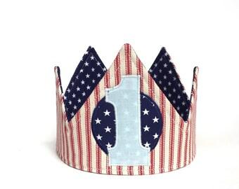 Boy First Birthday Crown - 1st birthday crown - first birthday crown - first birthday