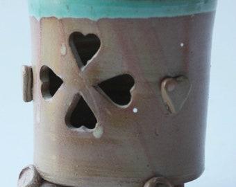 Desk Pen Holder, Ceramic pencil holder, Gift for new office, Gifts for teachers, Desk accessories, Ceramic planter pot, Ceramic Bowl,