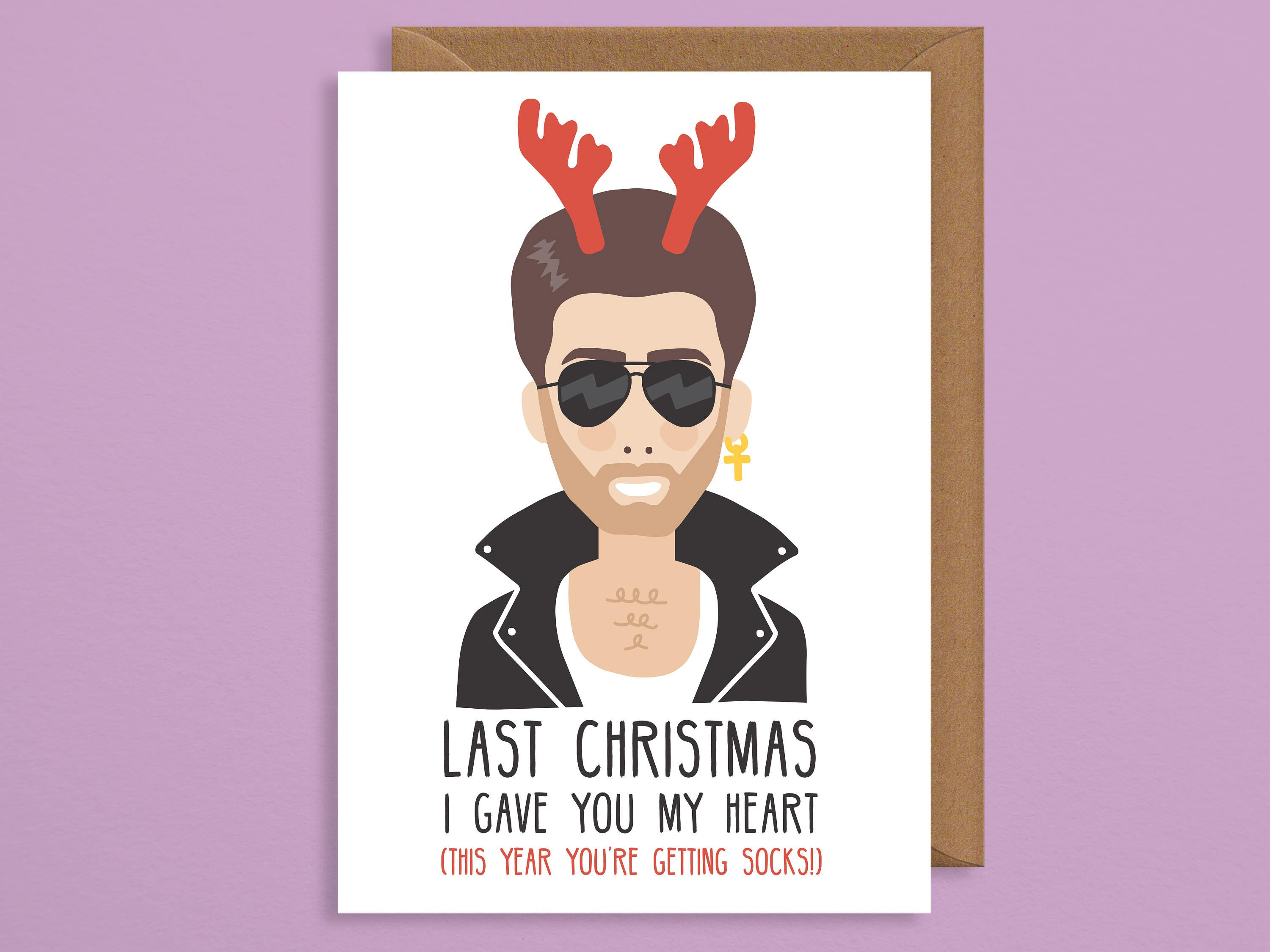 George michael christmas cardst christmas i gave you my zoom kristyandbryce Gallery