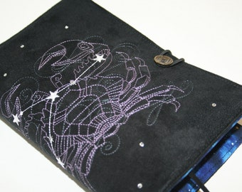 Cancer  Embroidered Book Cover