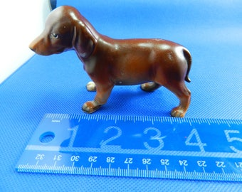 Dachshund Pup ( Weiner Dog ) Figurine - Very Good Condition