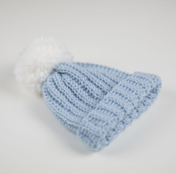 CROCHET PATTERN Crochet Baby Beanie /Hat All Sizes PDF