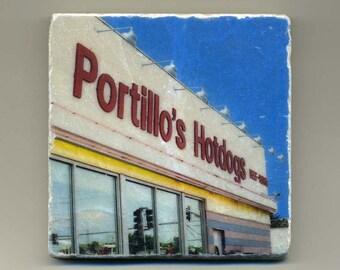 Portillo's - Original Coaster