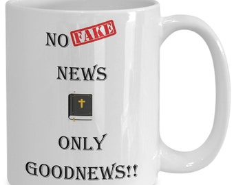 Goodnews coffee mug