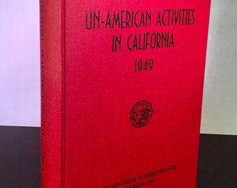 Fifth Report Un-American Activities in California 1949