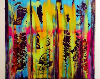 Sunday Vibes - Abstract Expressionist Painting