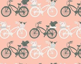 NEW! Fietsen Printemps 'Printemps Fusion' by Katrina Roccella. - Art Gallery Fabric Quilting Cotton 1/2 Yard+