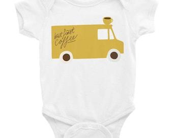 But first coffee - Infant Bodysuit | baby romper | onesie