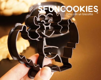 Cookie cutter Dracula x1, Draq the most irriverent cookiecutter - Funny Halloween Dracula cookiecutter - Black edition