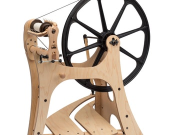 Schacht Flatiron Spinning Wheel IN STOCK