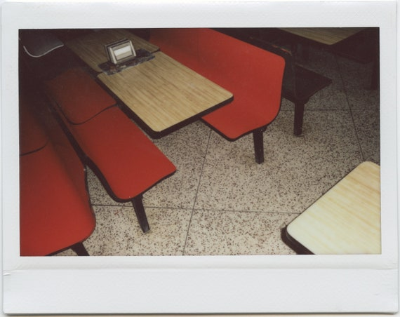 Pizza Parlor (Last of the Fuji Instax Wide Shots)