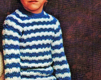 Toddler Crochet Pattern, Crochet Toddler Sweater Pattern, Raglan Sleeve Toddler Pullover Crochet Pattern INSTANT Download Pattern PDF (1110)