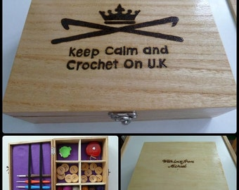 Crochet Box Personalised