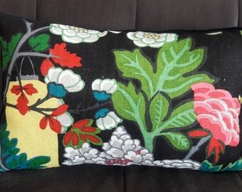 CHIANG MAI DRAGON Ebony Pillow Cover