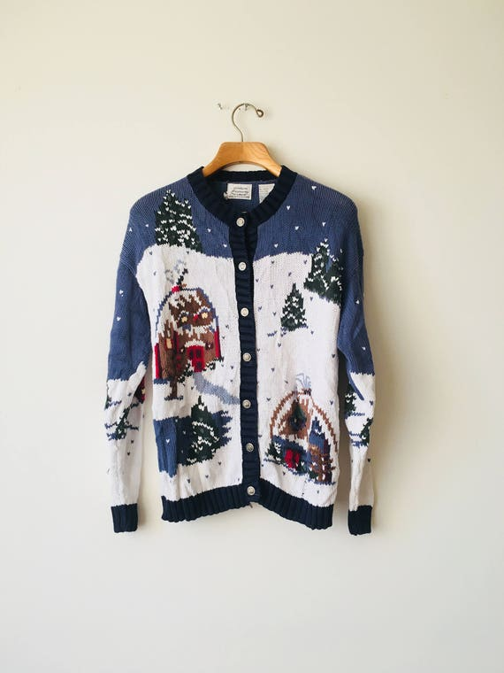 1980s Laid Back Christmas Unisex Sweater, Christmas Women's, Christmas Men's, Vintage, Affordable, Snowman
