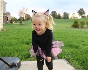 Cat costume-Toddler and Infant Cat Costume- Toddler Costume- Infant Halloween Costume- Newborn Costume- Girls Costume- Hello Kitty  sc 1 st  Etsy & Baby Girl Halloween Costume Little Peanut Costume Girl
