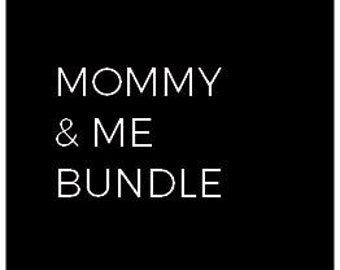Mompower & kid power Bundle gift, Mother's Day tees, Mother's Day Gift, Gift for mom, Gift for mama, Gifts for Mother's Day, matching tees