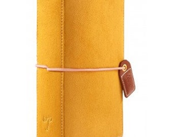 Websters Pages Mustard Suede Pocket size Travelers Notebook