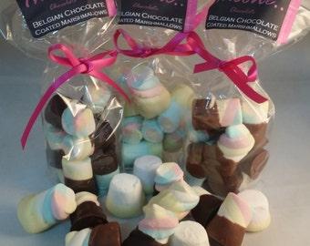 Belgian Chocolate Dipped Marshmallows