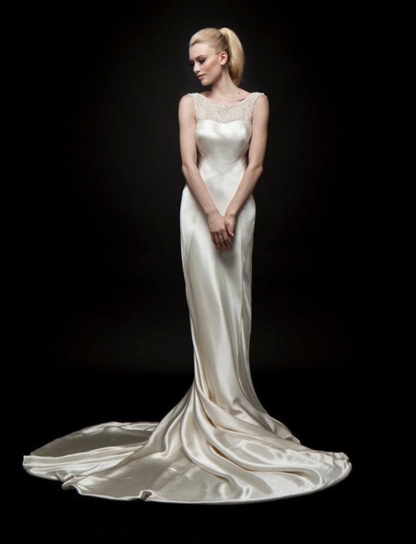 1930er Jahre Hochzeit 1930er Jahre Kleid Brautkleid 30er