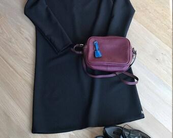 Black dress | dress | day dress | little black dress | cosy dress |
