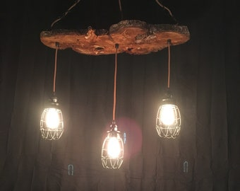 Rustic Ceiling Light.