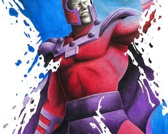 Magneto X-Splatter Painting