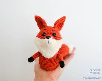 Pattern: Mary the Mommy Fox Amigurumi Crochet Pattern  Fairytale Gift Crochet fox Stuffed toy Birthday gift  Home decor Easter gift
