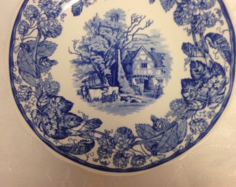 Spode Plate - Rural Scenes                       Great Christmas Idea