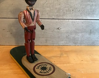 Folk Art Minstrel doll
