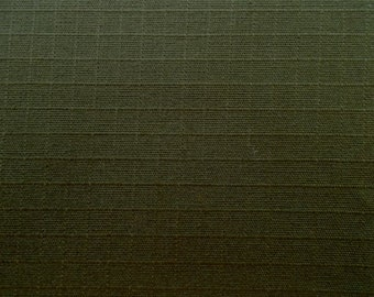 60 Inch Wide Cotton Ripstop Drab Olive Green Camoflauge Fabric Army Military